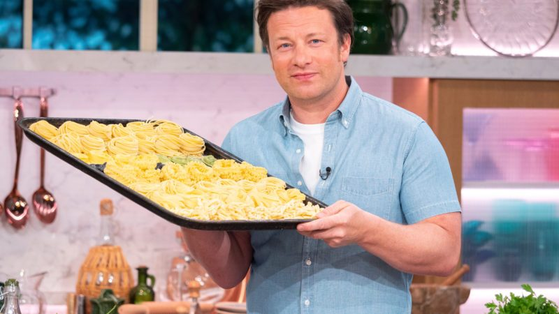 Jamie Oliver 'This Morning' TV show, London, UK - 23 May 2018