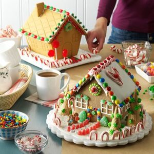 Family Holiday Tradition: Gather 'Round a Gingerbread House