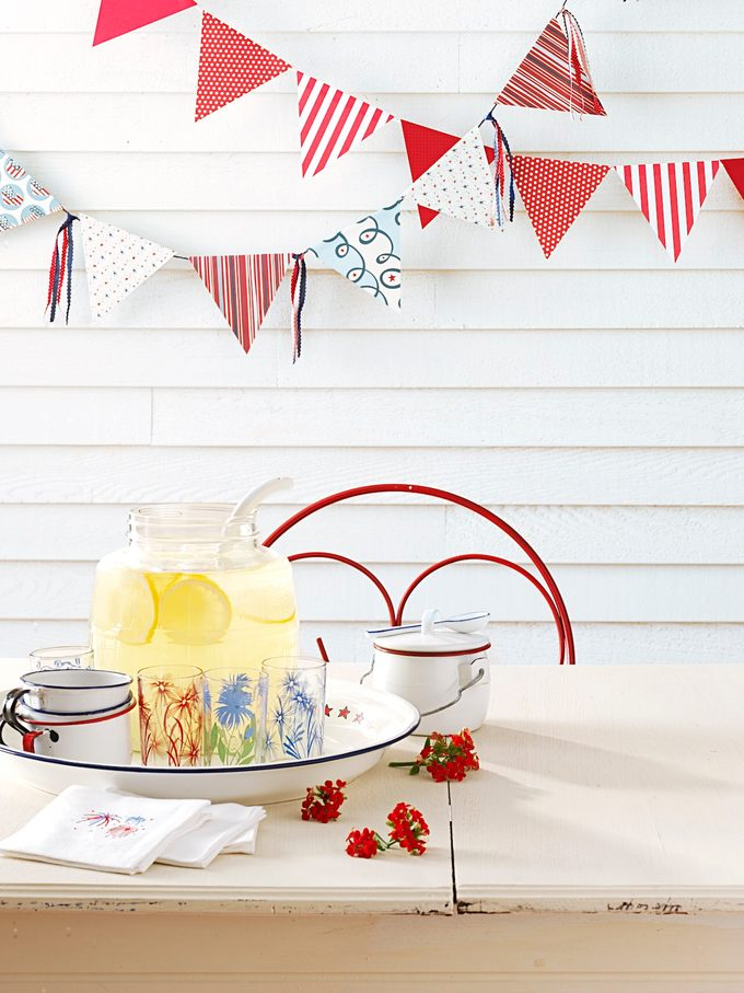 4th of july party idea for easy decoration