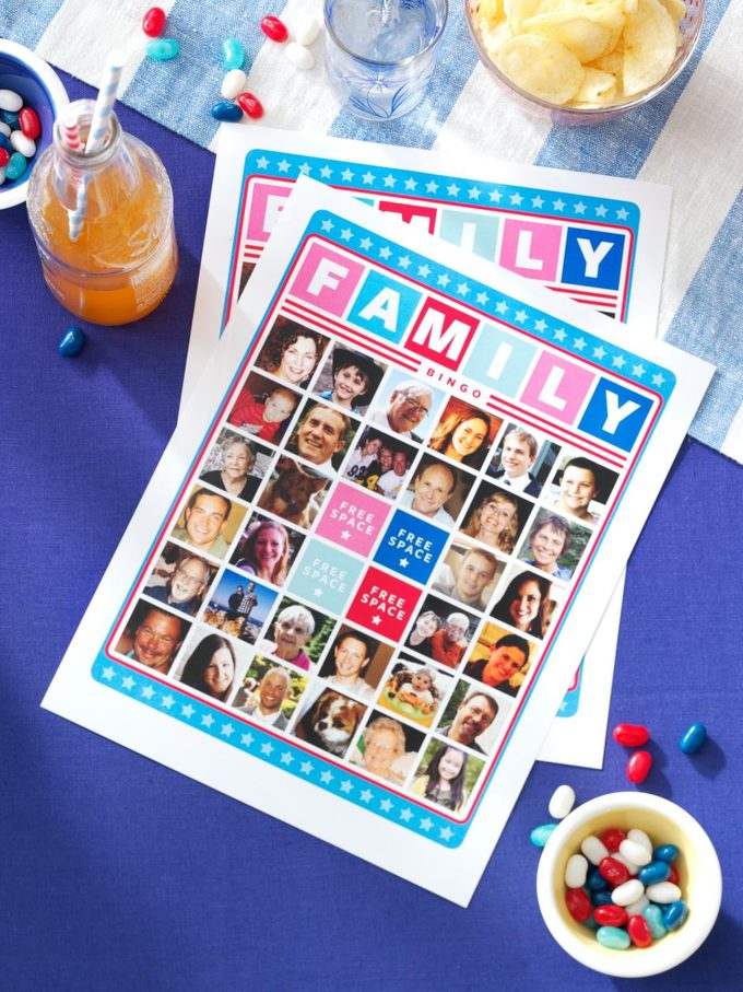 bingo game party idea