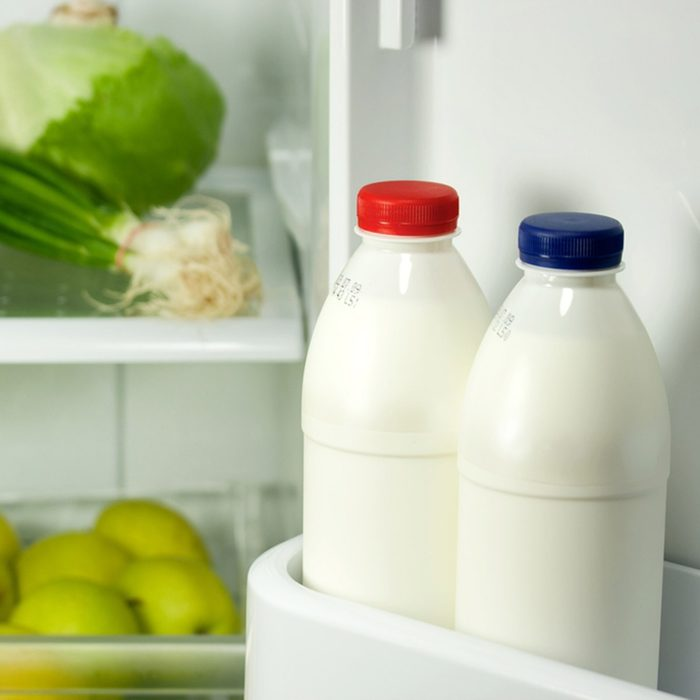 Refrigerator full with some kinds of food - fruits, vegetable, eggs and milk; Shutterstock ID 69273055; Job (TFH, TOH, RD, BNB, CWM, CM): Taste of Home