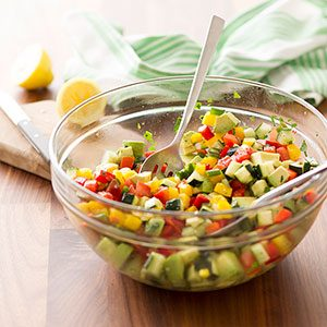 how to make a chopped salad at home