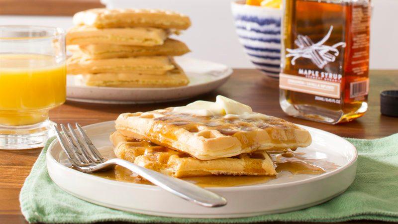 Big fluffy waffles