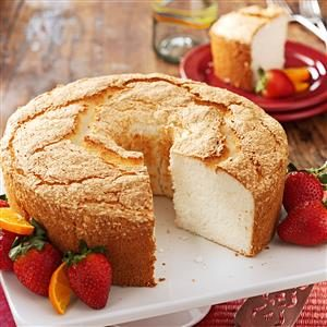 This airy angel food cake is simply heavenly taste of home forumfinder Image collections