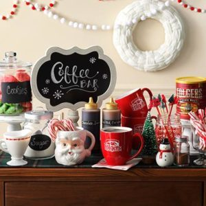 Best Holiday Tradition: Host a Holiday Hot Drink Bar