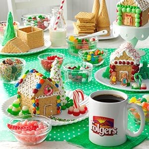 Host a Gingerbread House Decorating Party Taste of Home
