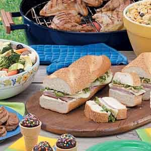 Family reunion picnic taste of home planning a summer family reunion we have ideas for a reunion picnic including picnic recipes and food for a crowd negle Images