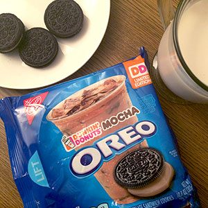 We Tried the Dunkin' Donuts Mocha Oreo. Here's What You Should Know.
