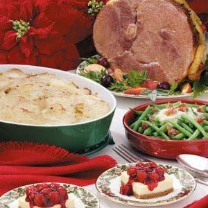 Festive Ham Dinner