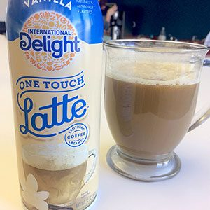We Tried International Delight's One Touch Latte Creamer—and Here's What You Need to Know