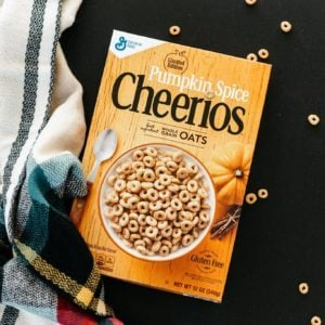 We Tried Pumpkin Spice Cheerios! Here's What You Need to Know.