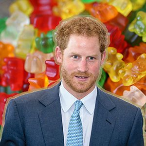 Prince Harry Gets a Candy Tribute from Haribo