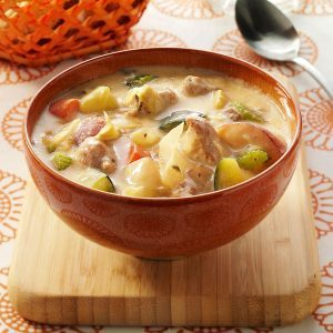 Anything Goes Sausage Soup
