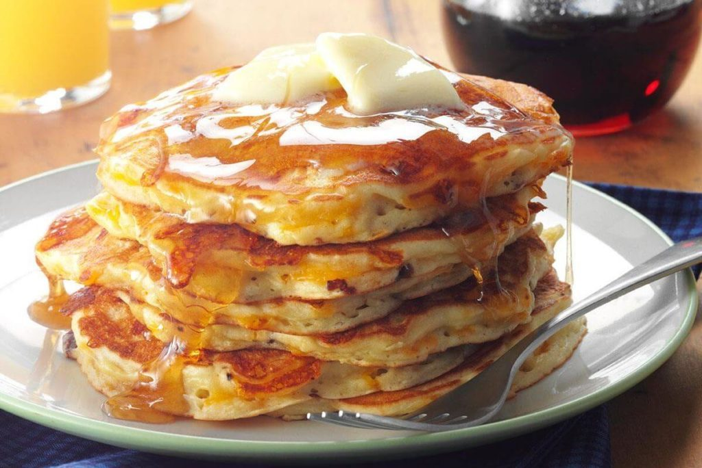 This secret ingredient makes the fluffiest pancakes ever taste photo taste of home ccuart Image collections