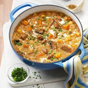Bran's Barley Soup