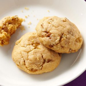Oatmeal Butterscotch Cake Mix Cookies