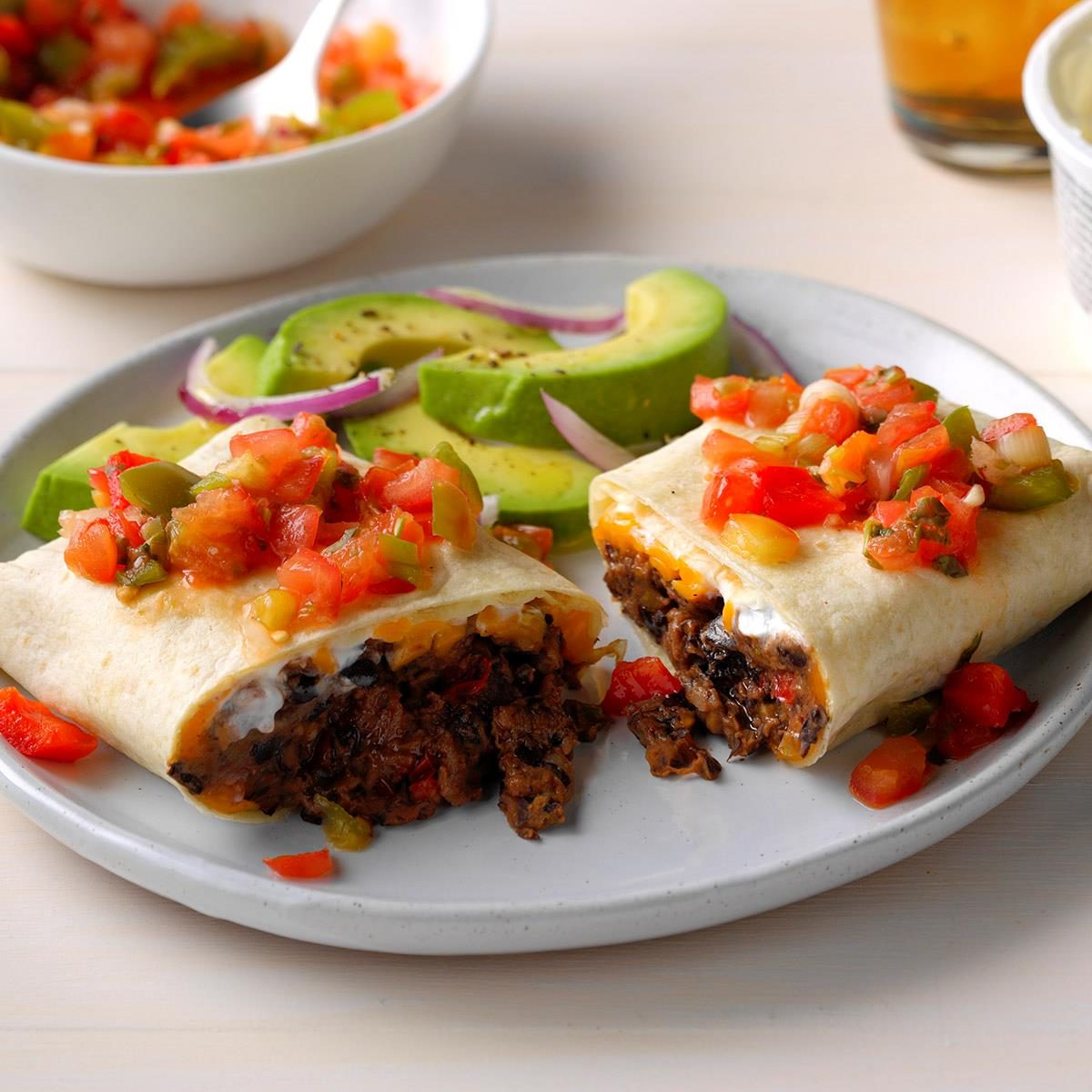Top 10 Bean Burritos