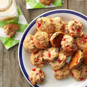Cherry Chocolate Nut Cookies