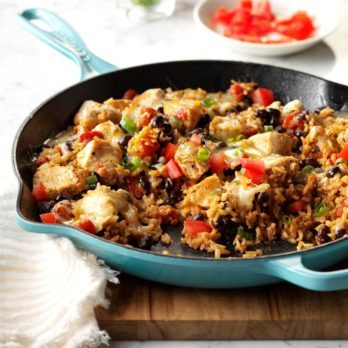 55 Savory Chicken Skillet Recipes