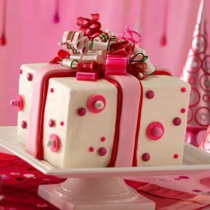 Chocolate-Mint Present Cake