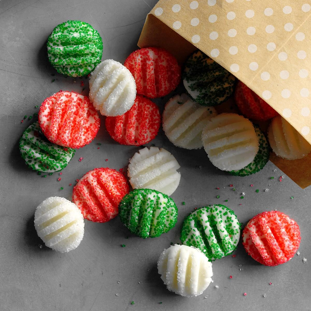 Top 10 homemade christmas candy recipes taste of home for Homemade candy for christmas recipes