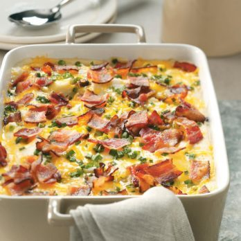 These Loaded Mashed Potatoes Will Win Your Next Potluck