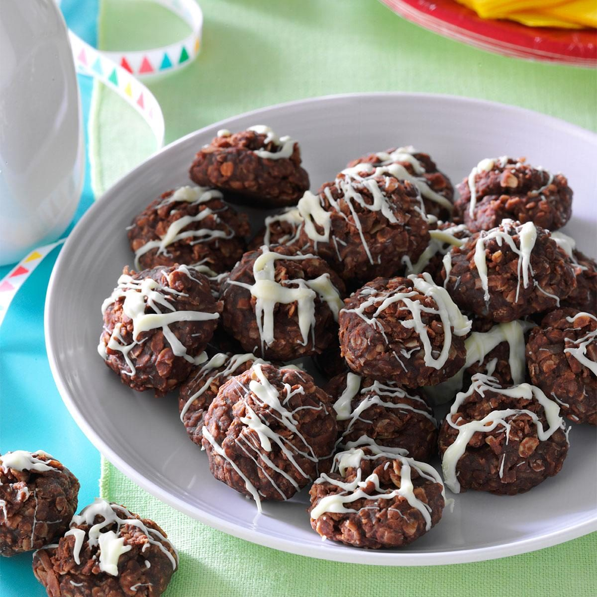 18 Chocolate No-Bake Cookies