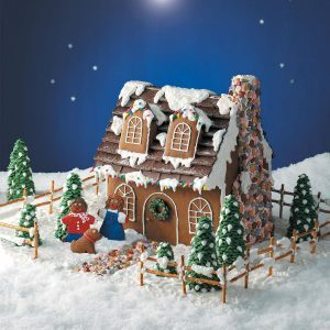 Cape Cod Gingerbread Cottage