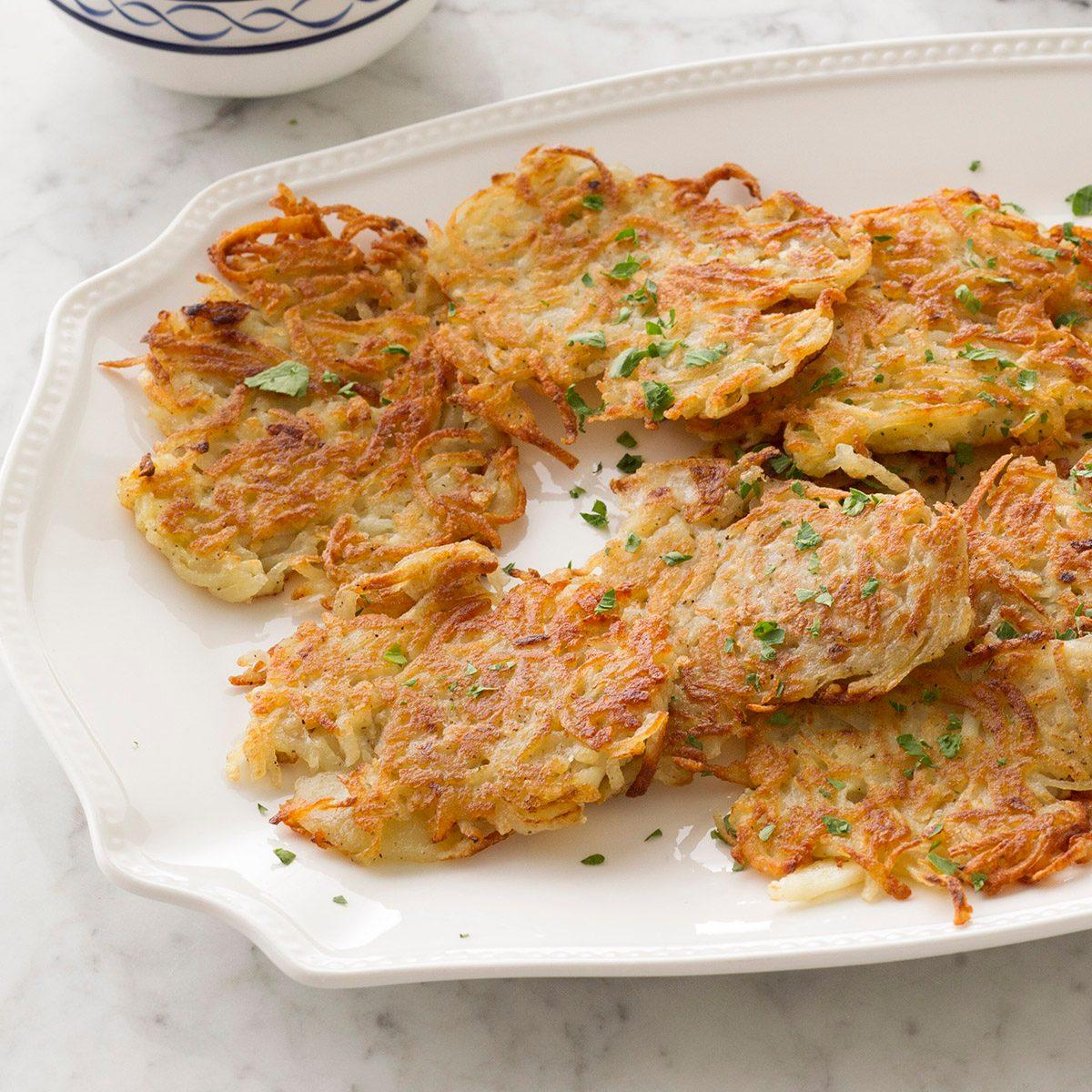 How to Make Latkes or Potato Pancakes