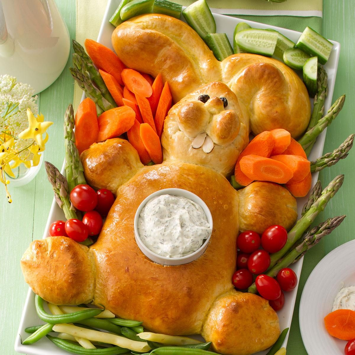 14 easter bunny shaped recipes taste of home for Food for easter dinner