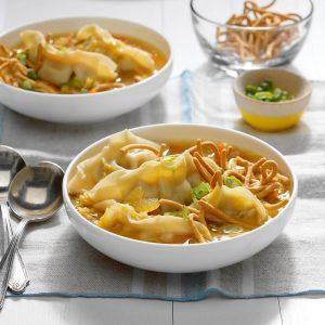 Easy Potsticker Soup