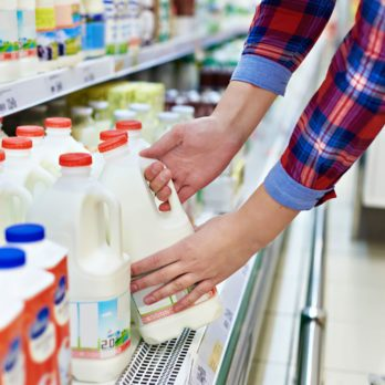 The Real Reason Your Grocery Store Milk Gets Put in the Back