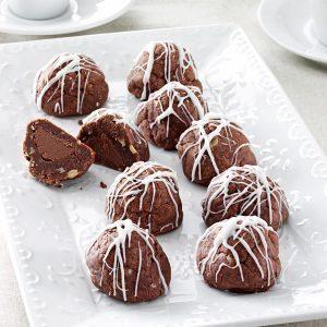Fudge Bonbon Cookies