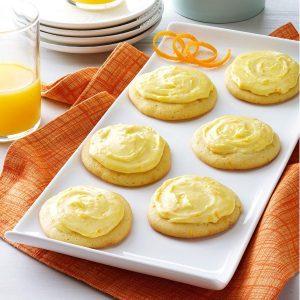 Grandma Brubaker's Orange Cookies