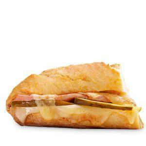 Inspired by: Ham & Swiss Cafe Sandwich