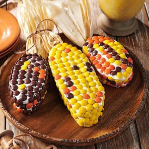 get recipe harvest corn cakes - Easy To Make Halloween Cakes