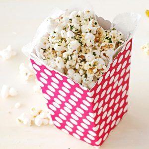 Italian Cheese Popcorn