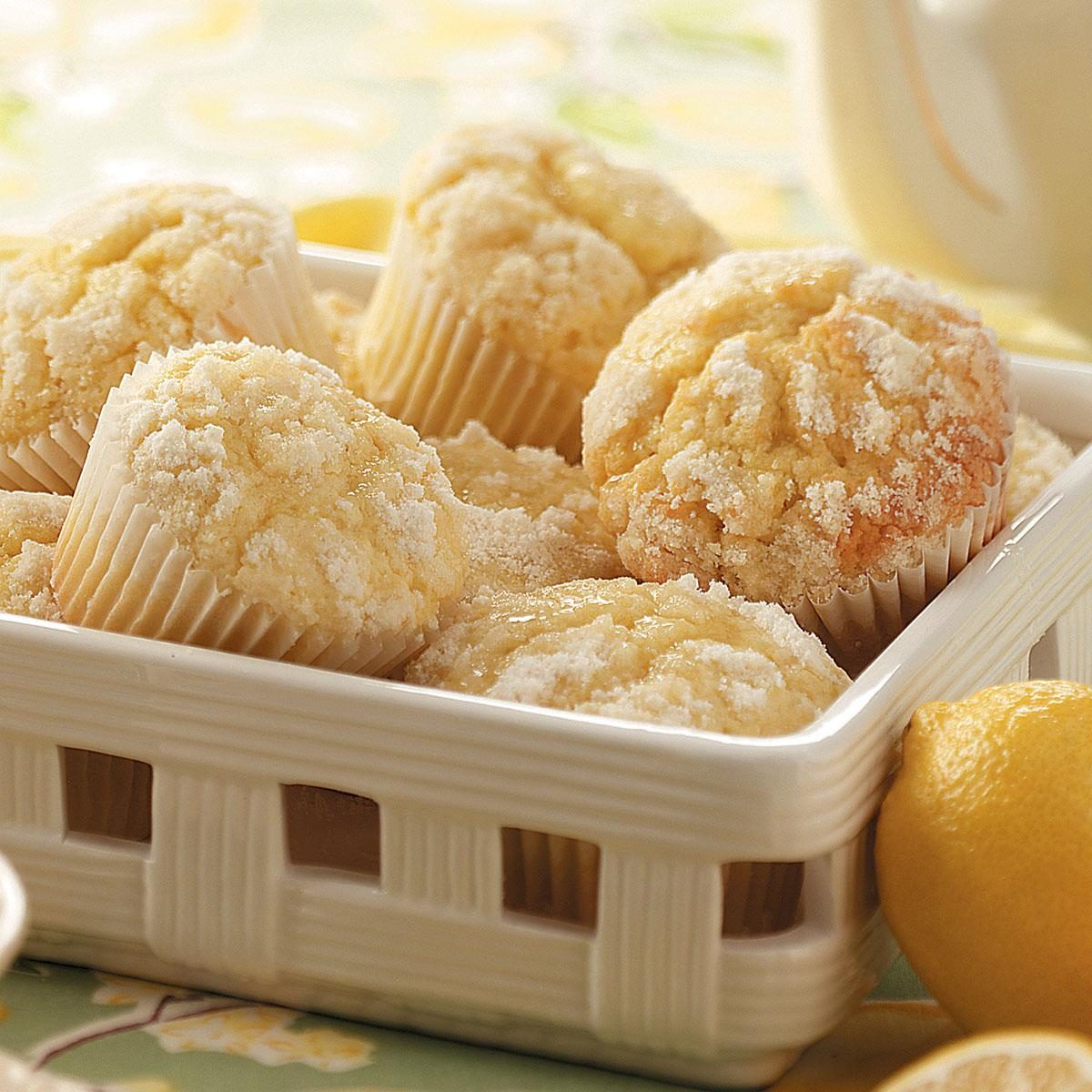 This Lemon Crumb Muffin Recipe Will Brighten Up Your Morning | Taste ...