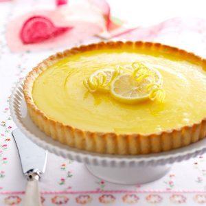 Lemon Tart with Almond Crust