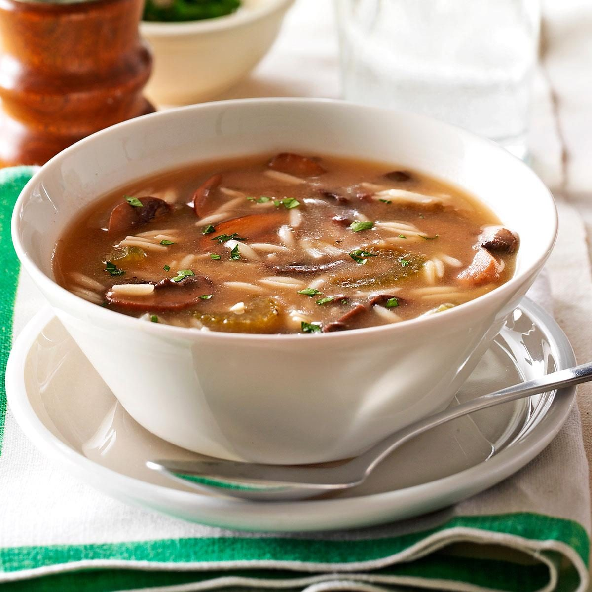 13 Ultra-Rich Mushroom Soup Recipes
