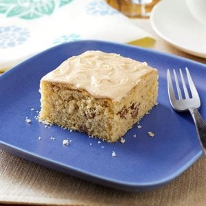 Old-Fashioned Butterscotch Cake with Penuche Frosting