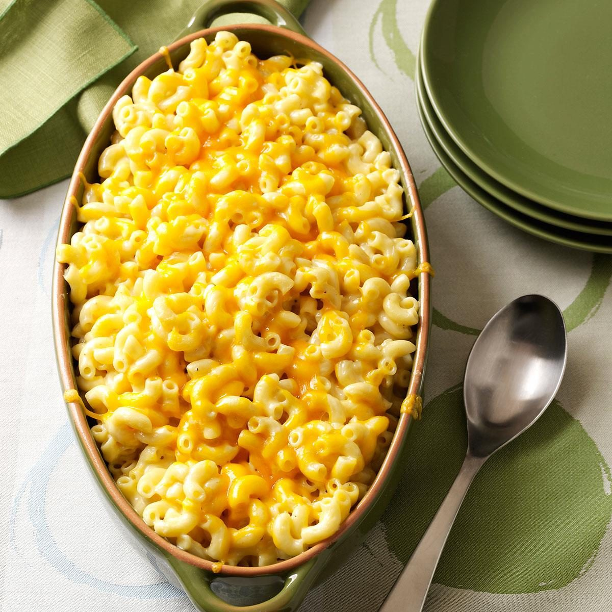 Over-the-top Mac n' cheese
