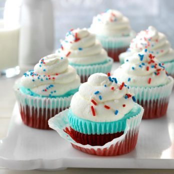 21 Fun Cupcakes for the 4th of July