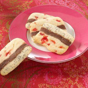 Ribbon Icebox Cookies