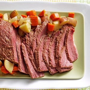 Slow-Cooked Corned Beef