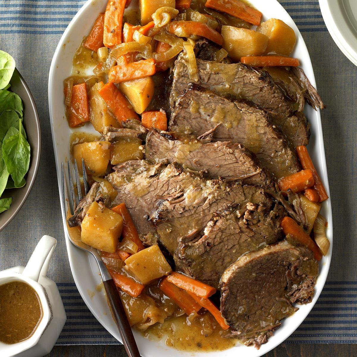 Slow Cooked Rump Roast
