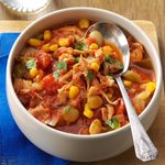 Southwestern Chicken & Lima Bean Stew