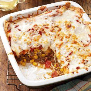 Spicy Enchilada Casserole