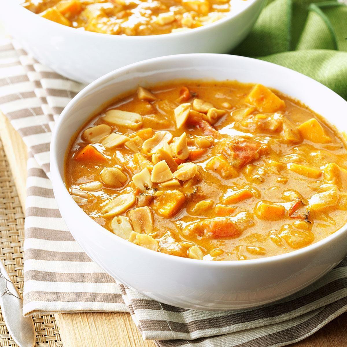 Spicy Peanut Soup
