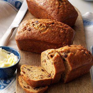 Sweet Potato Cinnamon Bread